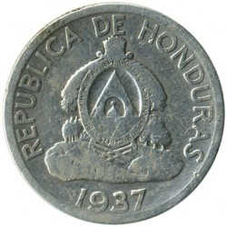 Moneta > 50centavos, 1931-1951 - Honduras  - reverse
