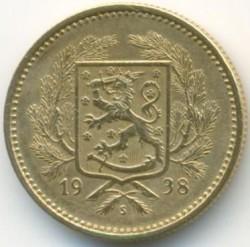 Münze > 5Mark, 1938 - Finnland  - obverse
