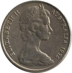 Moneta > 20centów, 1966-1984 - Australia  - obverse