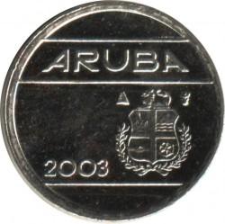 Moneda > 5centavos, 2003 - Aruba  - obverse