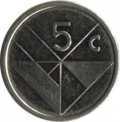 Монета > 5центов, 1986-2016 - Аруба  - reverse