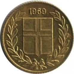 Moneta > 50aurar, 1969-1974 - Islanda  - obverse
