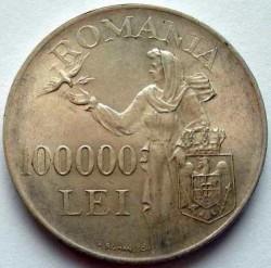 Moneta > 100000lėjų, 1946 - Rumunija  - reverse