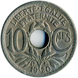 Coin > 10centimes, 1917-1938 - France  - obverse