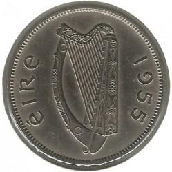 Pièce > 2shillings(florin), 1955 - Irlande  - obverse