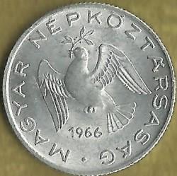Νόμισμα > 10Φίλερ, 1966 - Ουγγαρία  - obverse
