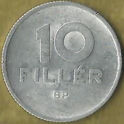 Νόμισμα > 10Φίλερ, 1966 - Ουγγαρία  - reverse