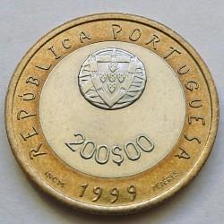 Moneta > 200scudi, 1999 - Portogallo  (UNICEF) - obverse