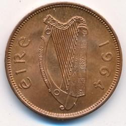 Монета > ½пенни, 1939-1967 - Ирландия  - obverse
