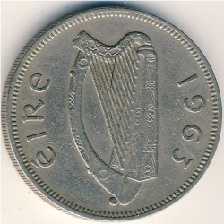 Pièce > 2shillings(florin), 1963 - Irlande  - reverse