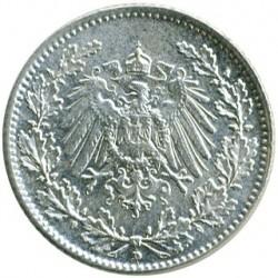 Moneda > 1/2marco, 1905-1919 - Alemania  - obverse
