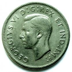 Moneta > 5centai, 1937-1942 - Kanada  - obverse