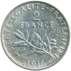 العملة > 2فرنكات, 1898-1920 - فرنسا  - reverse