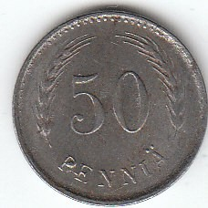 Münze > 50Penny, 1946 - Finnland  - obverse