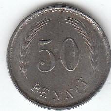 Münze > 50Penny, 1946 - Finnland  - reverse