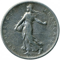 سکه > 1فرانک, 1912 - فرانسه  - reverse