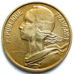 Coin > 10 centimes, 1966 - France  - obverse