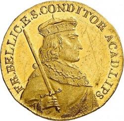 Moneda > 1ducado, 1809 - Sajonia  (400 aniversario - Universidad de Leipzig) - obverse