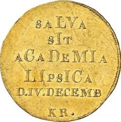 Moneda > 1ducado, 1809 - Sajonia  (400 aniversario - Universidad de Leipzig) - reverse