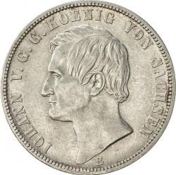 Moneta > 1vereinsthaler, 1871 - Sassonia  (Vittoria sulla Francia) - obverse