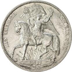 Moneta > 1vereinsthaler, 1871 - Sassonia  (Vittoria sulla Francia) - reverse