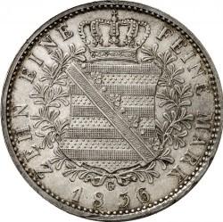 Moneta > 1tallero, 1829-1836 - Sassonia  (Solo testo di denominazione sul rovescio) - reverse