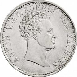 Moneta > 1tallero, 1827-1828 - Sassonia  - obverse