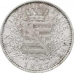 Moneta > 1tallero, 1827-1828 - Sassonia  - reverse