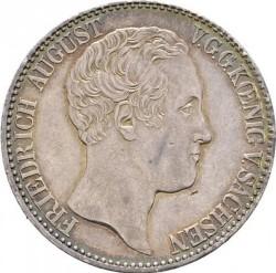 Moneta > 1tallero, 1836-1837 - Sassonia  - obverse