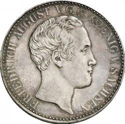 Moneta > 1tallero, 1836-1838 - Sassonia  - obverse