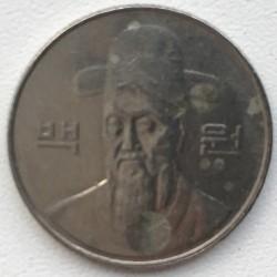 Moneta > 100vonų, 1998 - Pietų Korėja  - obverse