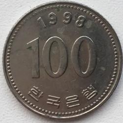 Moneta > 100vonų, 1998 - Pietų Korėja  - reverse