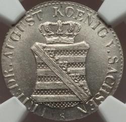 Moneta > 1/24tallero, 1824-1827 - Sassonia  - obverse