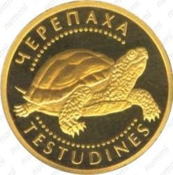 Münze > 2Hrywni, 2009 - Ukraine  (Schildkröte) - reverse