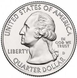 Moneda > ¼dollar, 2018 - Estats Units  (Costa del les Illes Cumberland) - obverse