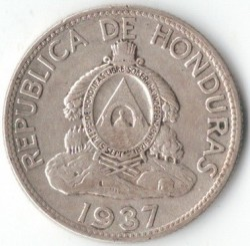 Монета > 1лемпира, 1931-1937 - Хондурас  - reverse