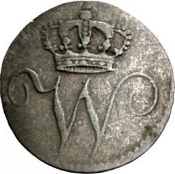 Кованица > ½крајцера, 1816 - Virtemberg  (William I (w/o date)) - obverse