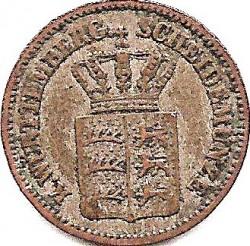 Кованица > 1крајцер, 1857-1864 - Virtemberg  - obverse