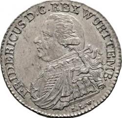 Кованица > 10крајцера, 1808-1809 - Virtemberg  - obverse