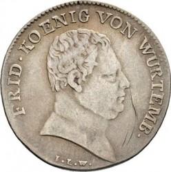 """Кованица > 10крајцера, 1812 - Virtemberg  (Short legend: """"FRID."""") - obverse"""