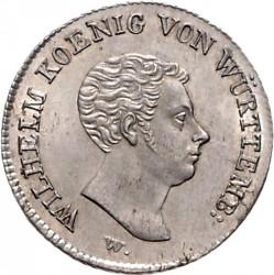 Кованица > 10крајцера, 1818 - Virtemberg  - obverse