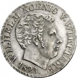 Кованица > 10крајцера, 1823 - Virtemberg  - obverse