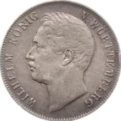 Кованица > 1гулден, 1839-1841 - Virtemberg  (W/o mintmark) - obverse