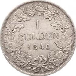 Кованица > 1гулден, 1839-1841 - Virtemberg  (W/o mintmark) - reverse