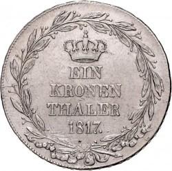 "Кованица > 1thaler, 1817 - Virtemberg  (Mark ""Wagner F."") - reverse"