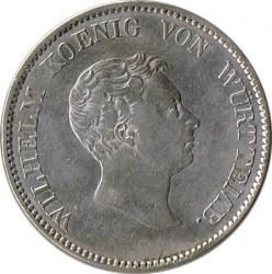 Кованица > 2гулдена, 1825 - Virtemberg  - obverse