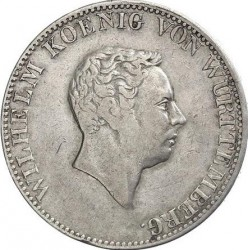 العملة > 2 غولدن , 1824 - فورتمبيرغ  (Small head) - obverse
