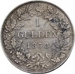Кованица > 1гулден, 1837-1838 - Virtemberg  - reverse