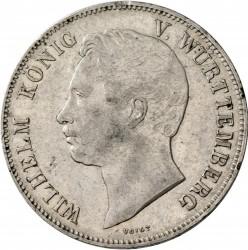 Кованица > 2thaler, 1840-1855 - Virtemberg  - obverse