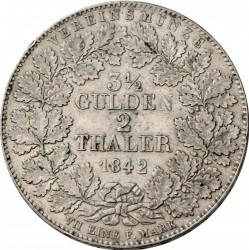Кованица > 2thaler, 1840-1855 - Virtemberg  - reverse